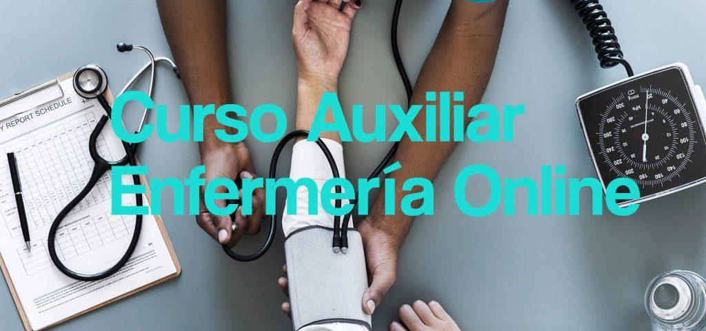 curso auxiliar enfermeria online