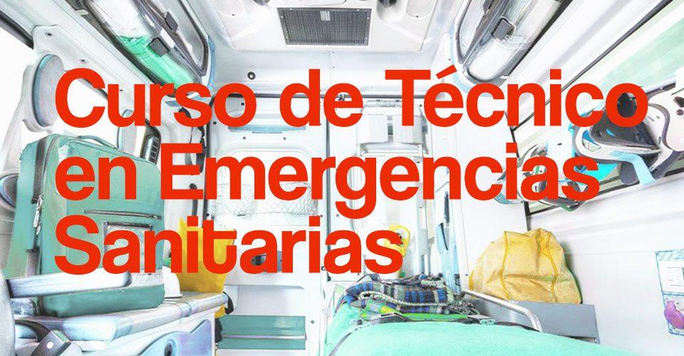 curso tecnico emergencias sanitarias tes